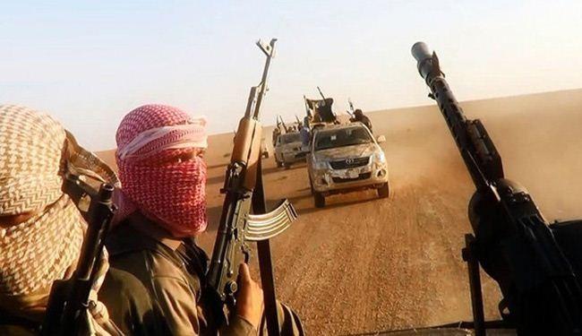 عناصر من جماعة داعش الارهابية